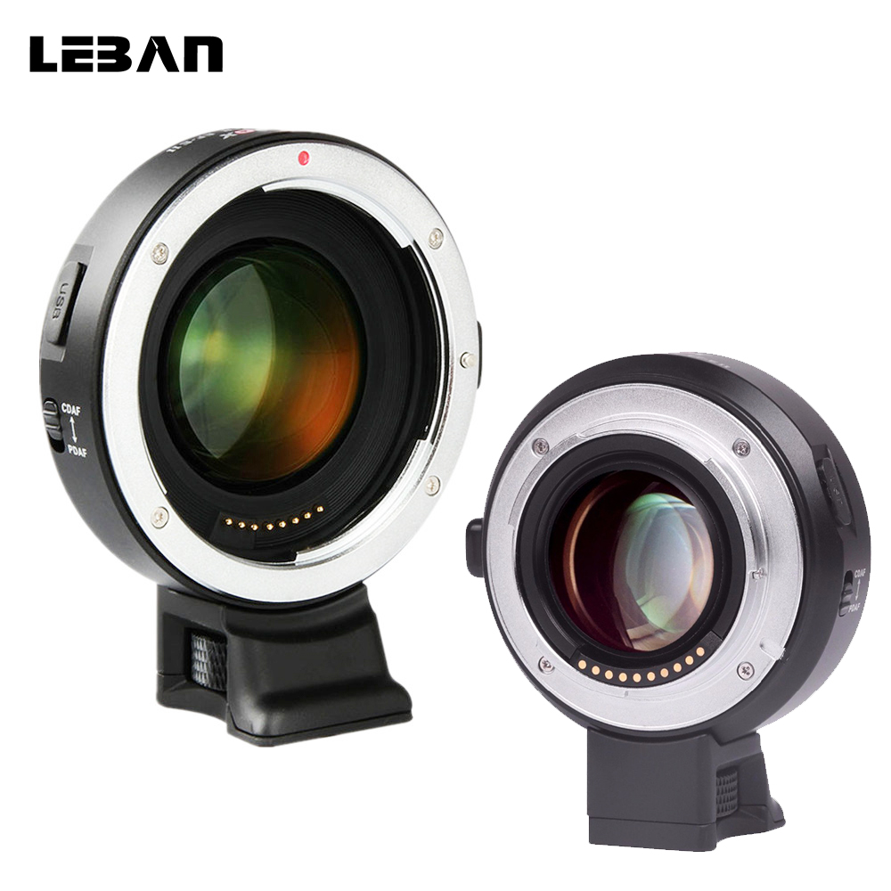Viltrox Ef E Ii Lens Adapter Ring Auto Focus Reducer Speed Booster For Sony E Mount Aps C Series Cameras And Canon Ef Eos Lens Lens Adapter Aliexpress