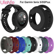 Silicone Case Cover For Garmin fenix 5/5S Wristband Bracelet Protector Shell for Garmin Fenix 5s 5 Smart Watch Protective