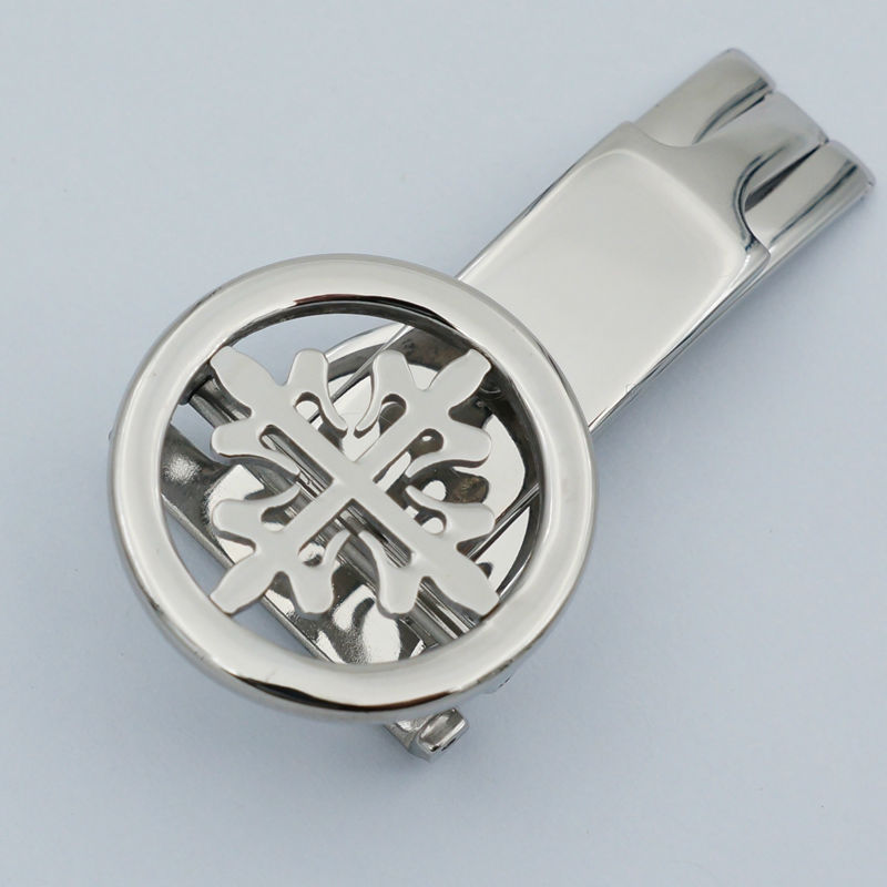 MAIKES New With Tags Stainless Steel Watch Clasp 18mm 20mm Leather Watch Band Strap Butterfly Buckle For Patek