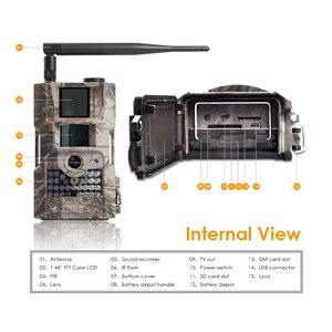 Image 2 - Bolyguard săn đường mòn camera 2G MMS SMS 18 M 1080PHD động vật hoang dã 90ft PIR tầm nhìn ban đêm ảnh bẫy Hướng Đạo Camera fototrappola