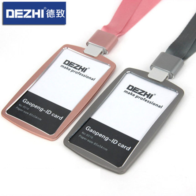 2017 Lanyards Id Badge Holder Employee Card Name Credit Neck Bus Tag