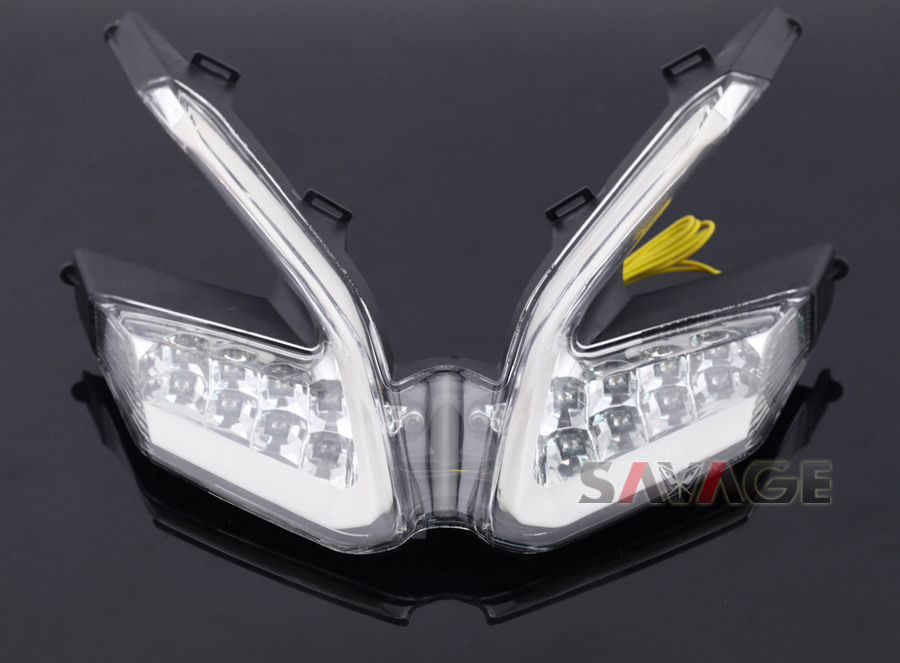 For DUCATI 899 959 1199/S/R 1299 Panigale Motorcycle Integrated LED Tail Light Turn signal Blinker Lamp Clear ...
