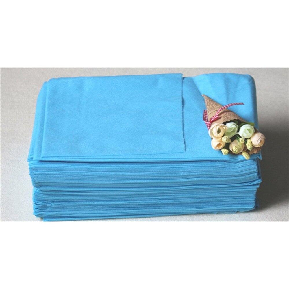 Beauty Tools 10pcs Disposable Bed Sheets For Travel Spa Salon Waxing Massage Treatment Makeup Tool Kit 75x175cm