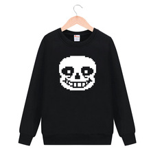 ImbibeInk Undertale Sans Long Sleeve T-shirt Cosplay Costume Men Women Casual