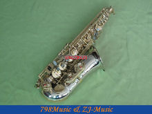 Professional Cupronickel  Eb Alto Saxophone Saxofon sax High F# With Case