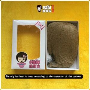 Image 4 - HSIU perruque de Cosplay Sougo Okita, Gin Tama, perruque de jeu, Halloween, cheveux
