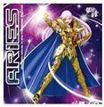 Galactic Nebula Figura de Ação Saint Seiya Cloth Myth Áries Mu EX Cavaleiros Do zodiaco brinquedo com KIKI e cabeça do Metal chifres