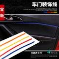 Carro decoração da porta da guarnição, Interior etiqueta para Mazda 6, mazda 3 2014 2015, cx-5, 4 pçs/lote, frete grátis