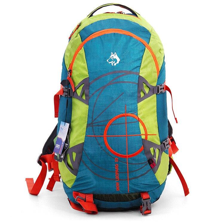 Джунгли король 2017 открытый альпинизм сумка рюкзак мужчины и женщины сумка рюкзак супер емкость дорожная сумка оптовая продажа 50л