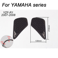 Tank Grip Pads For YAMAHA R1 FZ6 FZ8 MT07 MT09 MT10 R3 R6 XJ 6 FZ1 Protector Sticker Decal Gas Knee Grip Tank Traction Pad Side