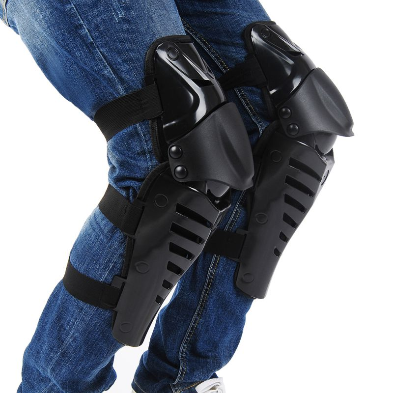 Motorcycle Riding Protector ATV Knee Elbows Pads Guards Set Protective Gear Motorbike Motocross helmet USA SHIPPING