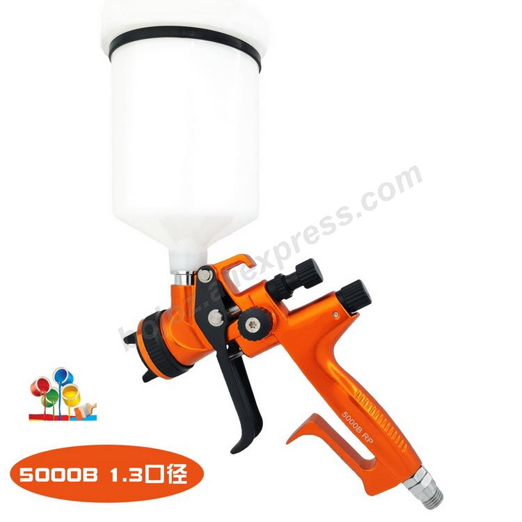 Golden environmental Limited Edition Porsche Design RP Spray Gun 1.3 Nozzle w/t cup for Car Paint Sprayer pistol.-in Spray Guns from Tools on
