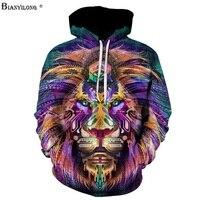 Autumn Winter Fashion Paisley Flowers Lion Printing Men Women Hooded Hoodies Cap Windbreaker Jacket 3d Sweatshirts