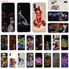 Lavaza The Walking Dead Hard Phone Case for Apple iPhone 6 6s 7 8 Plus X 5 5S SE for iPhone XS Max XR Cover webbedepp hot red dead redemption 2 glass phone case for apple iphone xr x xs max 6 6s 7 8 plus 5 5s se