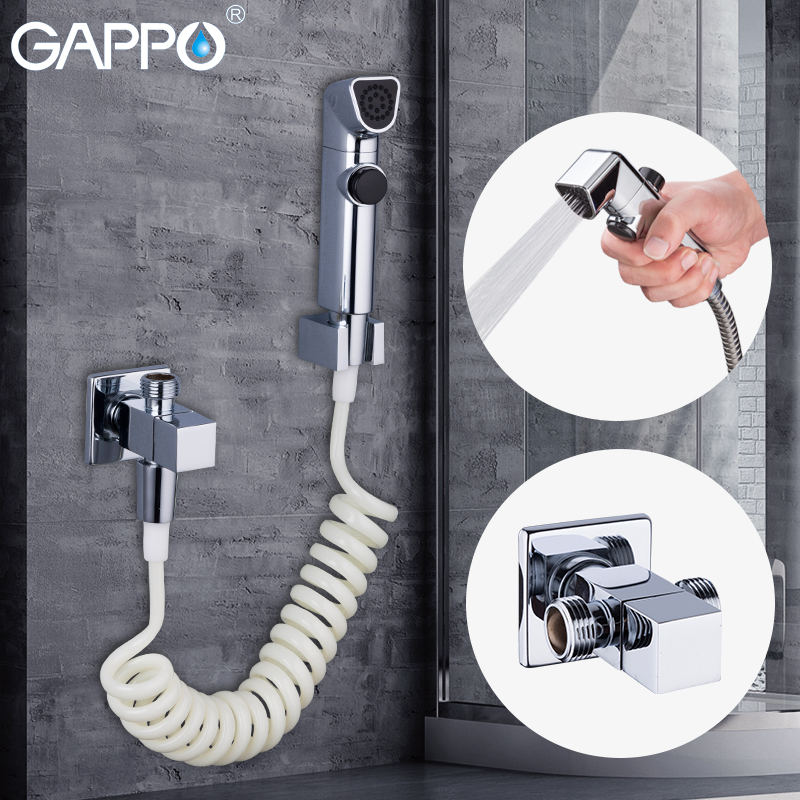 GAPPO Bidets toilet shower mixer bidet portable muslim shower bidet toilet sprayer wall mount toilet faucet gappo bidet faucet white toilet shower bidet hand shower faucet muslim shower toilet wall mount sprayer faucet bidet tap mixer