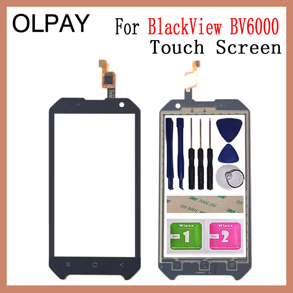OLPAY 4.7 New Original Touch Glass Panel For Blackview BV6000 BV 6000 Lens Sensor Touch Screen Digitizer Glass Sensor ToolsOLPAY 4.7 New Original Touch Glass Panel For Blackview BV6000 BV 6000 Lens Sensor Touch Screen Digitizer Glass Sensor Tools
