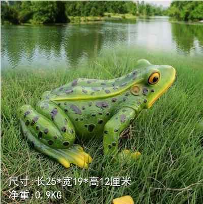 Ofícios de sapo, decorações de jardim, modelos de animais criativos, decorações de casa