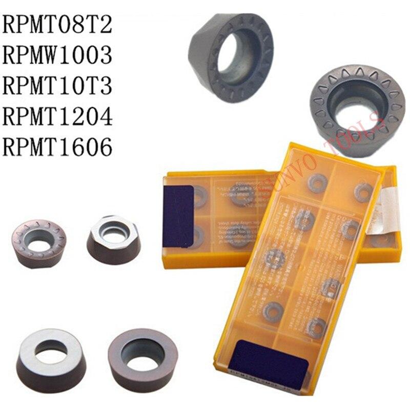 High Quality Carbide Insert RPMT08T2 RPMT10T3/RPMT1204/RPMW1003/RPMT10T3MOE-JS EMR 5R-50-22 Face End Mill Cutter Milling Tool
