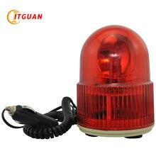 LTD-8103 автомобиля Предупреждение светильник Магнитный DC12V высокое Мощность автомобильное магнитное крепление для автомобиля Предупреждение светильник incandecnt Поворотный Светильник