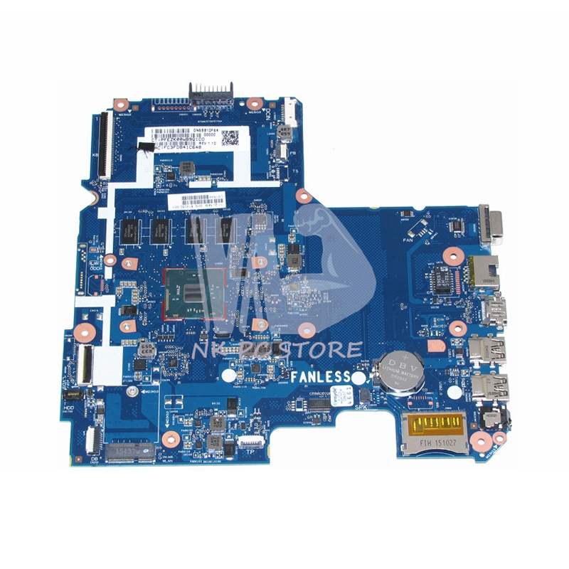 814050-001 Main Board For HP Pavilion 14 14-AC159NR Laptop motherboard SR29H N3050 CPU onboard 4GB RAM Memory high quality laptop motherboard fit hp pavilion dv7 dv7 3000 series main board 574680 001 1gb