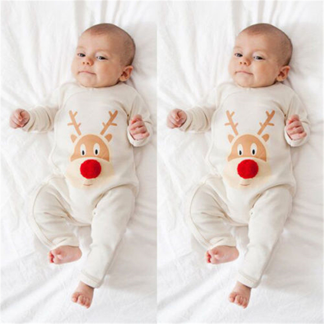 Pajamas Set Mom And Baby Christmas Deer