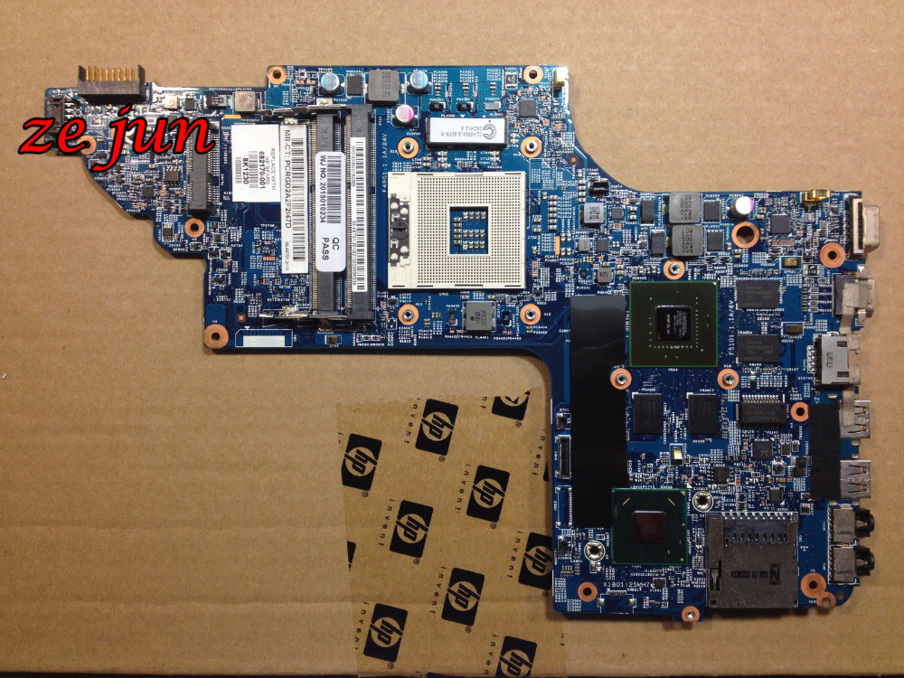 682170-001 Laptop Non-Integrated Motherboard DV6 DV6-7000 Series Mainboard Full Tested Working Well - feng gu's store