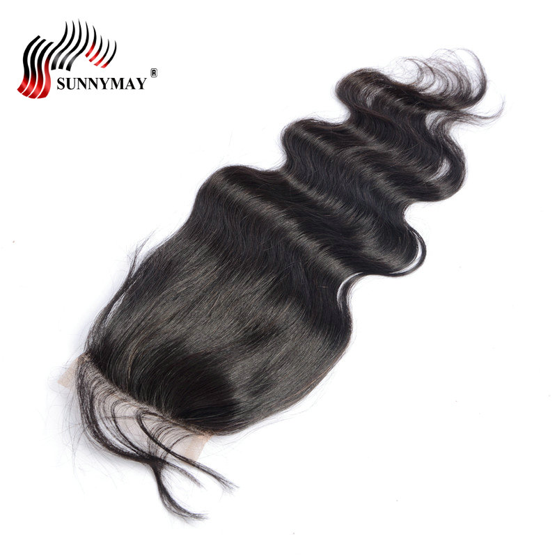 Sunnymay Pre Plucked Lace Closure Μετωπιαίο Σώμα - Ανθρώπινα μαλλιά (για μαύρο)