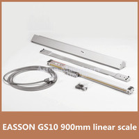 High precision linear digital scale EASSON GS10 TTL 5V Trvael 900mm 0.005mm linear glass scale for CNC turning lathe 900mm