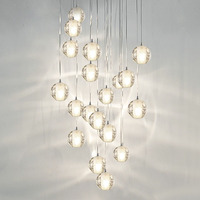 Modern G4 LED Pandant Lights Multiple Staircase Lamps Fixtures Fashion Living Bedroom Decora Restaurant Dining Kitchen