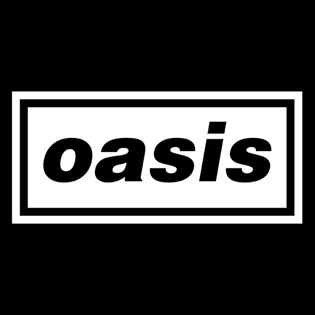 New Music Band Logo Oasis Liam Bedroom Giant Wall Art