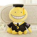 Candice guo plush toy stuffed doll cartoon Assassination Classroom smile Korosensei teacher funny animal octopus baby gift 1pc