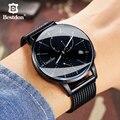 Мужские автоматические механические часы Bestdon  водонепроницаемые светящиеся спортивные часы со скелетом  Роскошный швейцарский бренд 2019