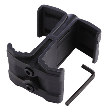 Jinming Nylon Clip Parallel Connector Reload  Double Magazines Connector Clip Coupler Modified Part For M4 replacement