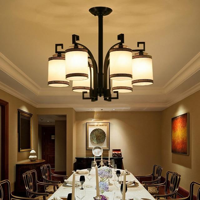 Chinesischen stil Eisen moderne wohnzimmer lampen Chinesische antike ...
