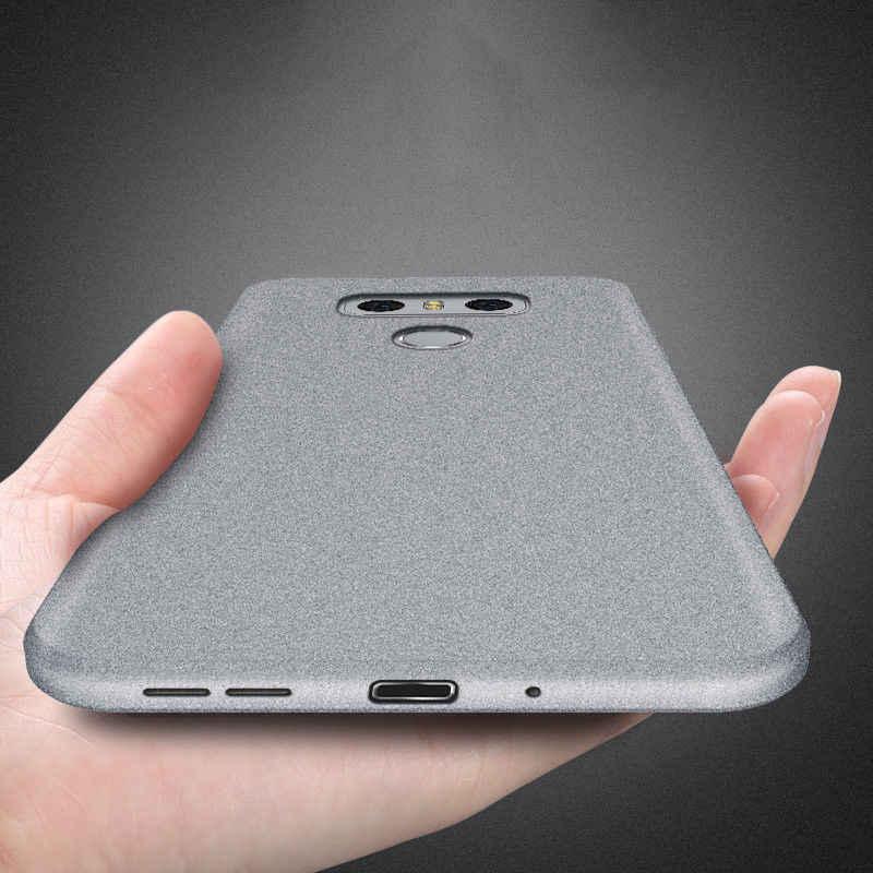 Ультратонкий с матовой поверхностью чехол для телефона для LG V40 G7 ThinQ V30 мягкий силиконовый защитный противоударный чехол для LG Q8 Q6 мини G4 G5 SE G6 Coque