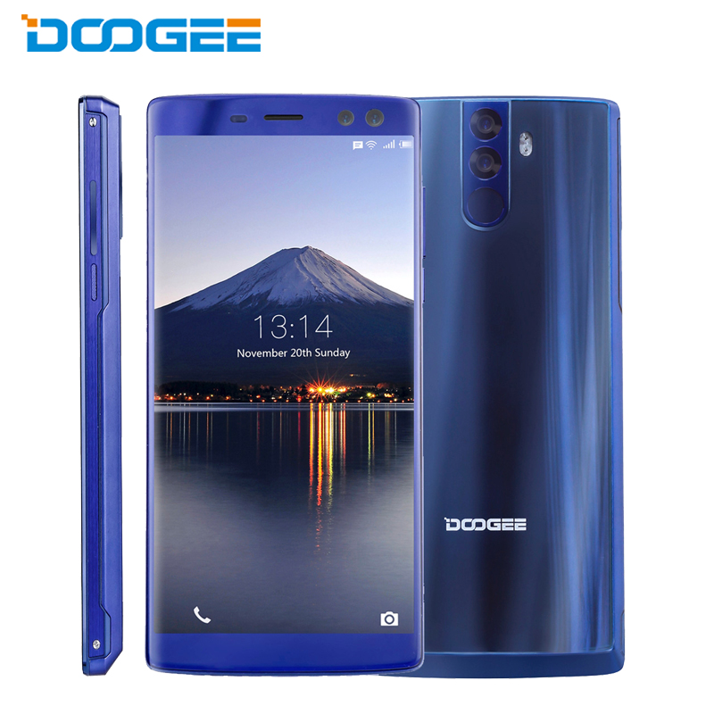 Original DOOGEE BL12000 Pro Cell Phone 6.0 inch 6GB RAM 128GB ROM MTK6750T Octa Core Android 7.0 Quad Camera 12000mAh Smartphone