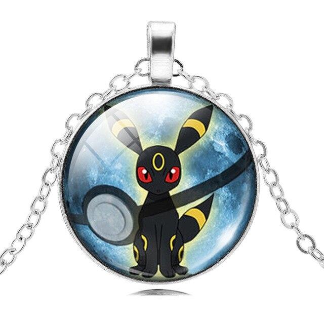 Pokemon Glass Cabochon Necklace