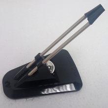 Bungee flexível para mouse, clipe de fio para jogos com cabo de arame e mouse, fixador de linha preto para mouse