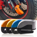 2016 Safe Protect Motorcycle Anti Thief Electric Handle Wheel Disc Brake Alarm Lock Security Motorcycle Accessories Orange Color