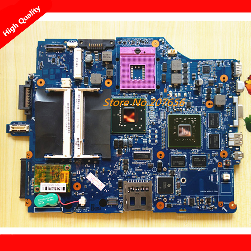 NEW Original MBX-165 MS92 motherboard For Sony Vaio VGN-FZ Series Laptop Notebook PC Motherboard Main board 1P-007B500-8011
