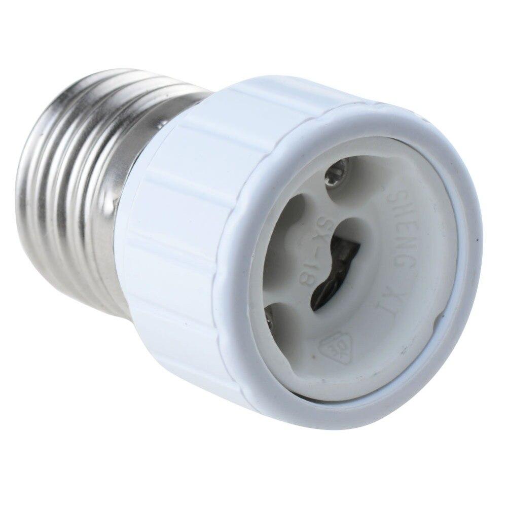 1 PC E27 to GU10 Base LED Light Lamp base Bulbs Adapter Adaptor Socket Converter Plug Extender P22