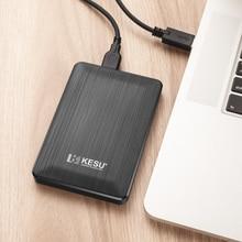 "UDMA портативный внешний жесткий диск USB3.0 HDD для One, Xbox 360, PS4, PC, Mac, настольный компьютер, ноутбук, Xbox, KESU, 2,5"""