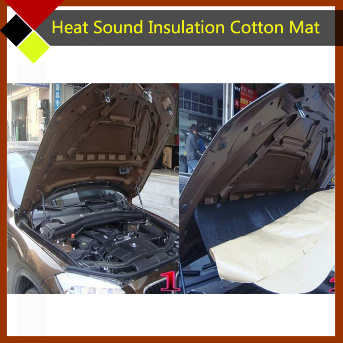 Car Suv Truck Body Heat Sound Dampening Thermal Insulation