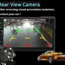 Liplasting 7″ inch HD Digital TFT Touch Button LCD Digital Screen Car Headrest Monitor DVD Player USB/SD MP5 Player Game Radio