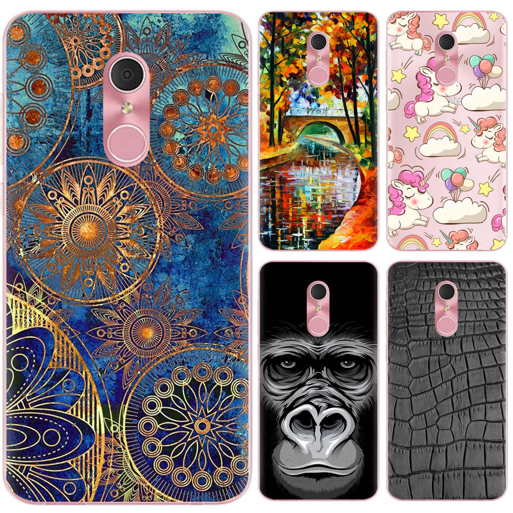 low priced f80ab c2fb4 US $0.99 20% OFF|Phone Case For Alcatel A3 Plus 5.5 inch Cute Cartoon High  Quality Painted TPU Soft Case Silicone Cover-in Fitted Cases from ...