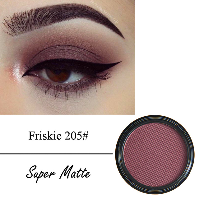 12 Colors Matte Eye Shadow Powder Pigment Nude Long Lasting Bright Eyeshadow Makeup Water-Resistant Black Red Eyeshadow 3