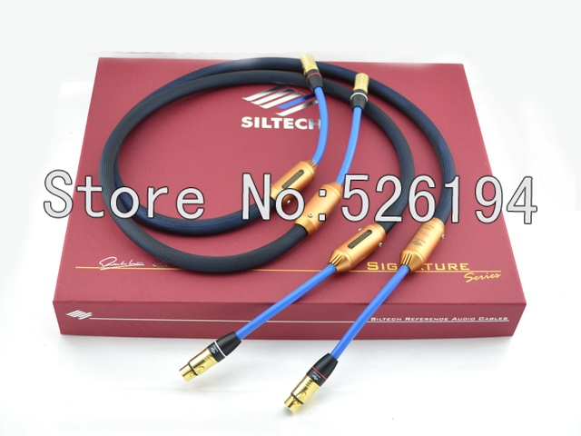 DHL Free shipping Siltech 25th G7 EMPRESS Cable Double crown Audio interconnect cable with XLR plug