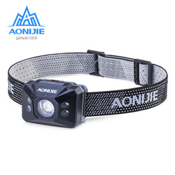 AONJIE E4082 Waterproof Adjustable Sensitive LED Headlight Headlamp Flashlight Light For Running Fishing Camping Hiking Cycling
