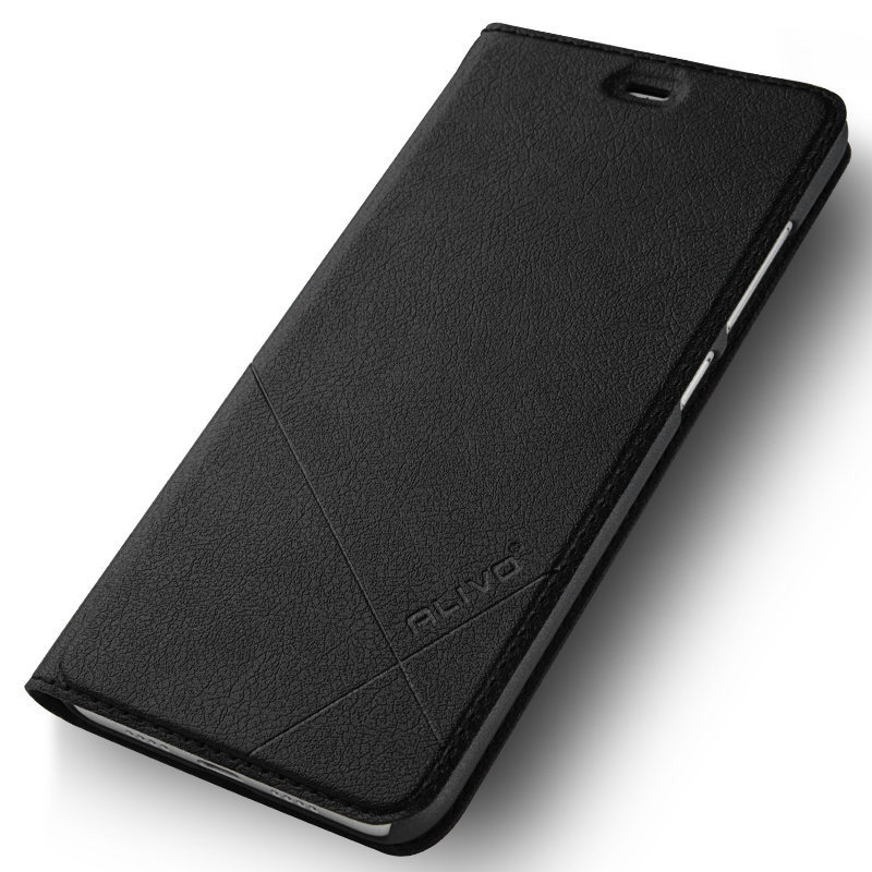 6A Case Stand-Cover Slim-Series Xiaomi Redmi Luxury Business-Flip For PC Hard-Material