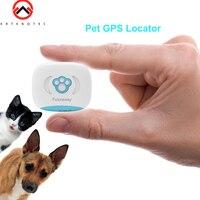 Waterproof IP67 FP03 MiNi Pet GPS Tracker Dog Cats Smart GPS Locator AGPS LBS Tracking Device LBS SMS Positioning Geo Fence